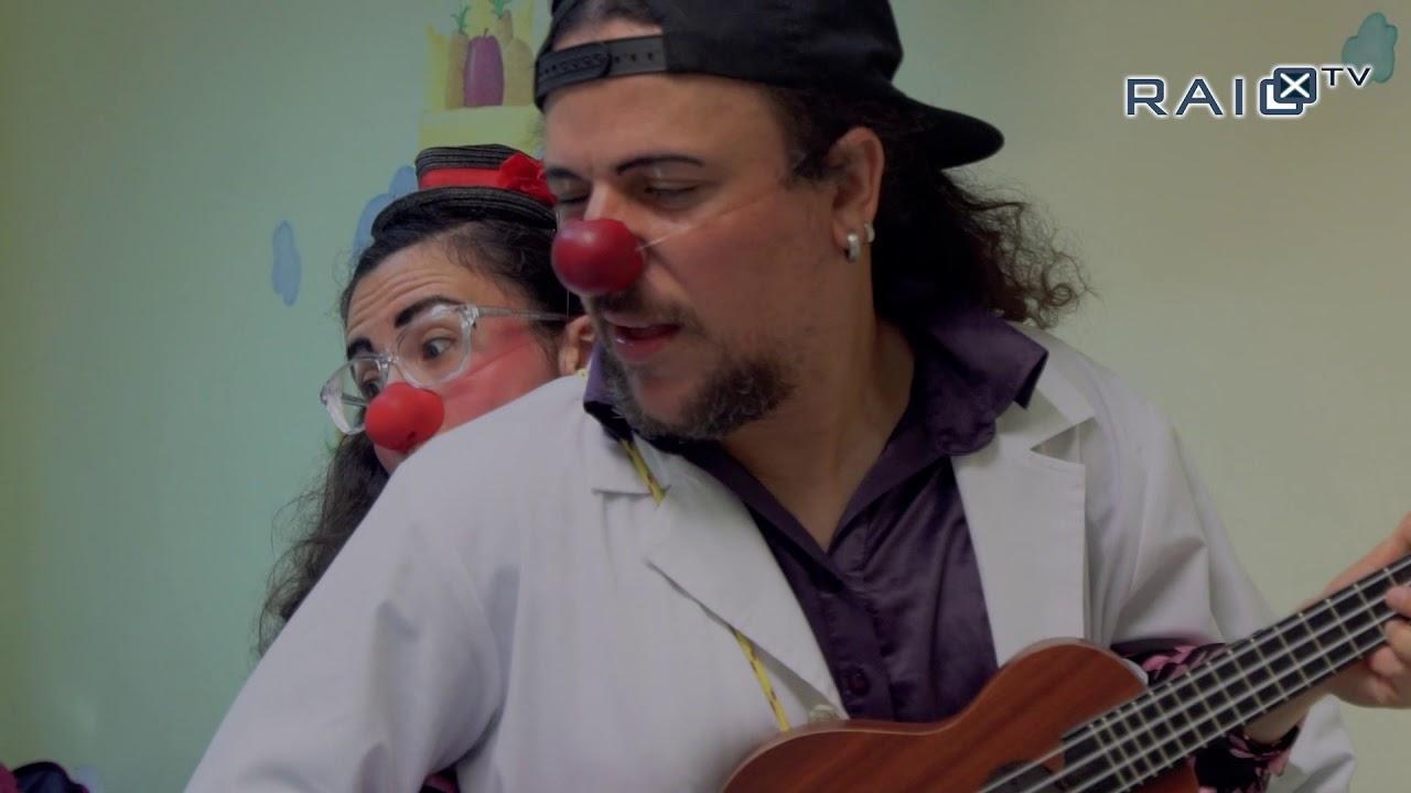 Operação Nariz Vermelho na ala pediátrica do Hospital de Dona Estefânia