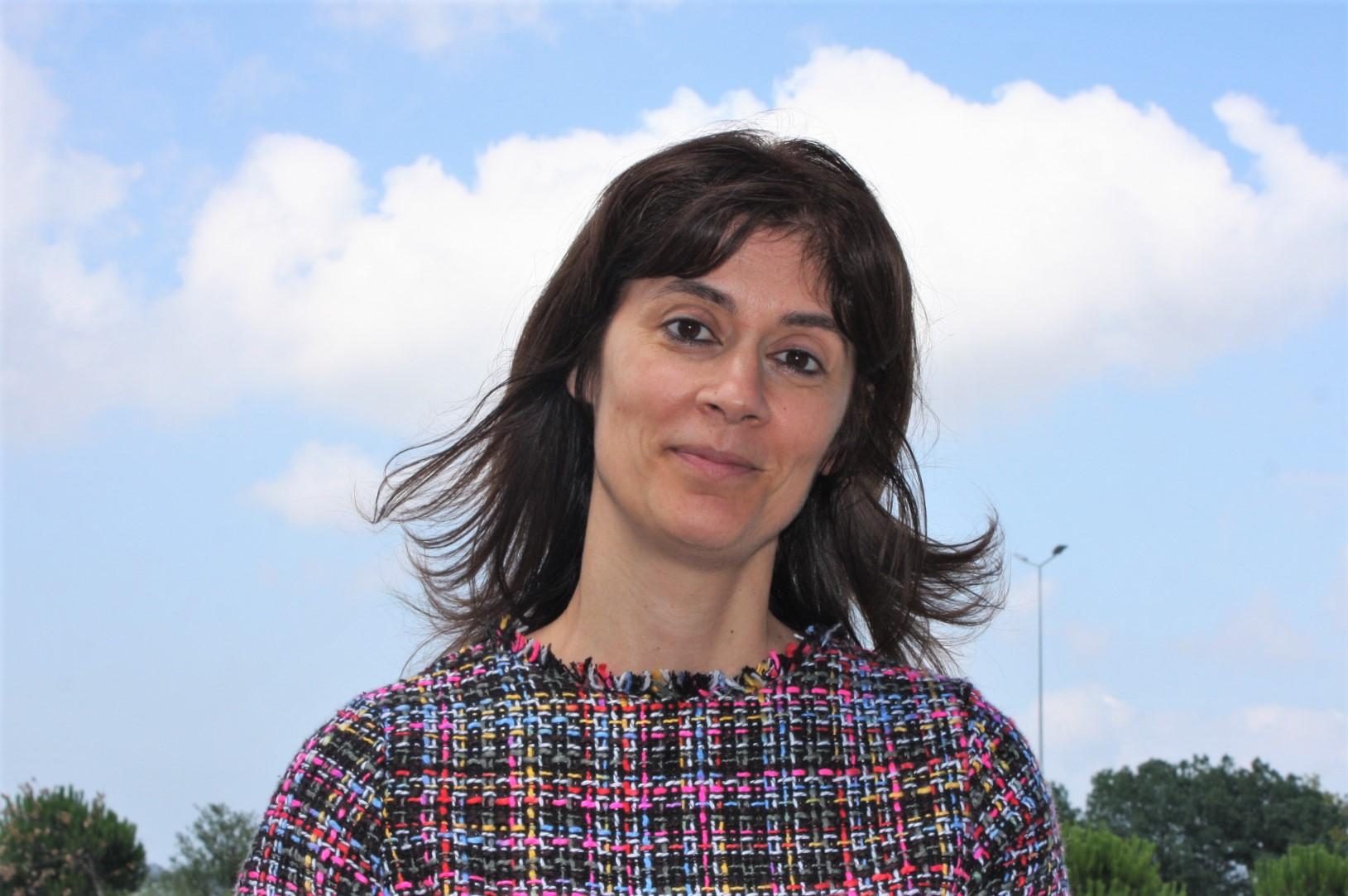 A investigadora Alexandra Monteiro